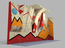 Another fine example of Climbing Walls available from Dream Climbing Walls