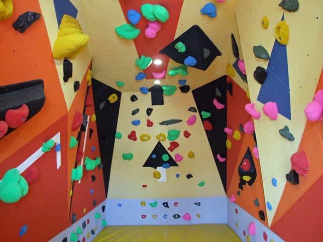 Container Climbing Wall