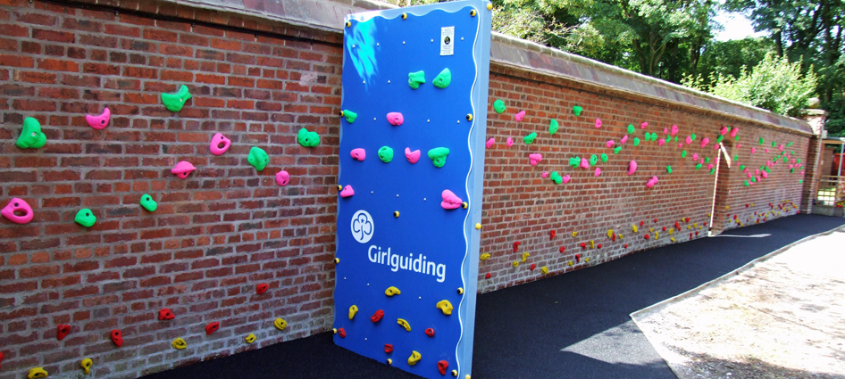 Girl Guides The Wirral - School Traverse Wall