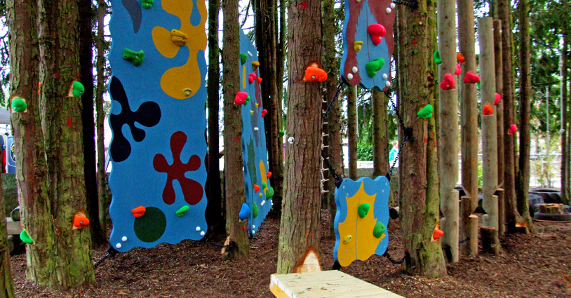 Tarland Low Ropes Course - another fine School Climbing Walls and School Traverse Walls