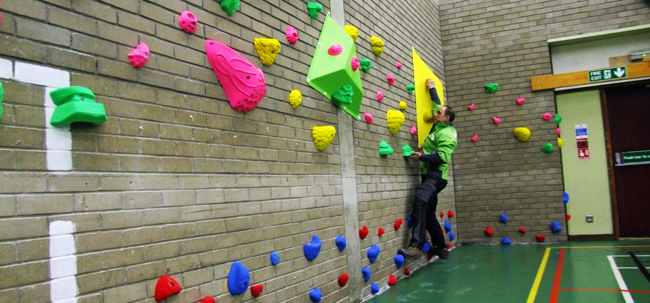 Torry Academy and School Climbing Walls
