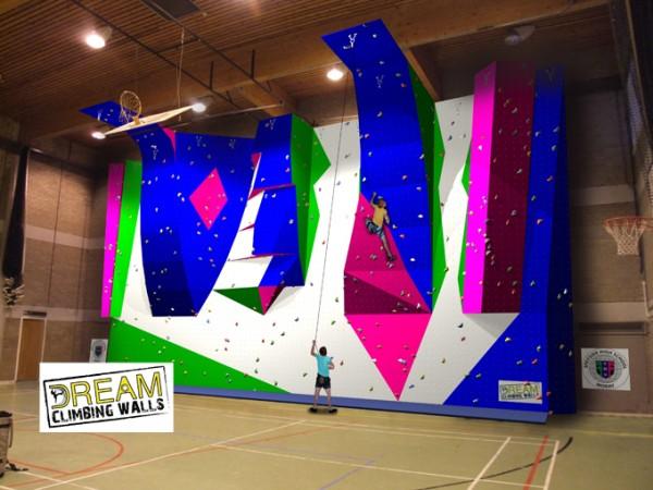 Speyside High School Indoor Climbing Wall Design
