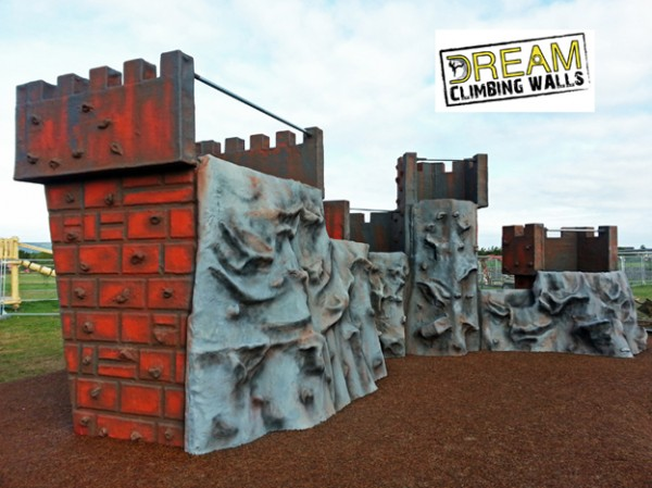 Dream Climbing Walls Fibreglass Inverness Castle Boulder 13